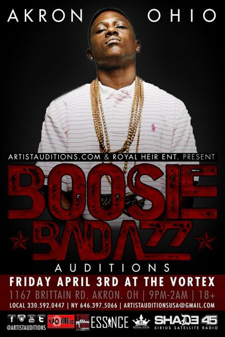 Royal Heir - Boosie Auditions